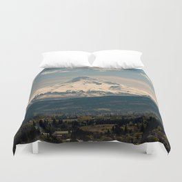 Mountain Valley Pacific Northwest - Nature Photography Duvet Cover