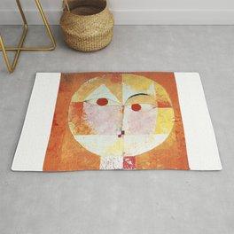 """Paul Klee """" Senecio """" Rug"""