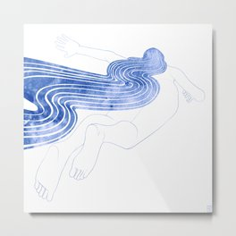 Water Nymph XLVII Metal Print