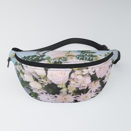 Pure White Beauty Fanny Pack