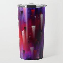 Lifeblood - Abstract Travel Mug