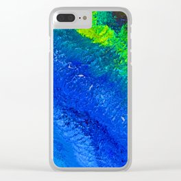 """""""Riptide #4"""" Oil Painting Clear iPhone Case"""