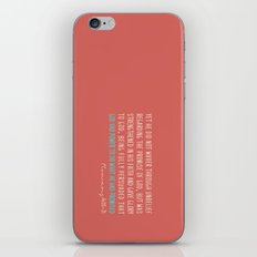 Romans 4:20-21 iPhone & iPod Skin