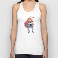 the goonies Tank Tops featuring Goonies Hug by Super Group Hugs