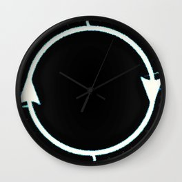 :) The Fusion of Us...and the Fission :( Wall Clock