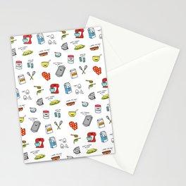 Happy Baker Pattern Stationery Cards