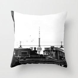 Decisive Throw Pillow