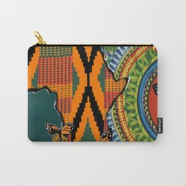 African Dashiki Butterfly Carry-All Pouch