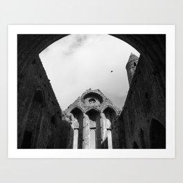 The Ruins of Cashel Art Print