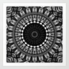 Hidden Compass Art Print