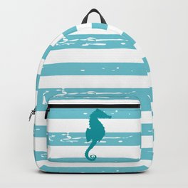 AFE Turquoise Seahorse Backpack