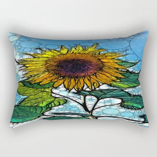 :: Sunshiny Day :: Rectangular Pillow