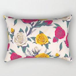 gorgeous roses Rectangular Pillow