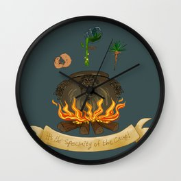 It's the specialty of the cave! Wall Clock