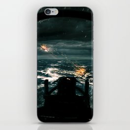 Fortune Favours The Brave iPhone Skin