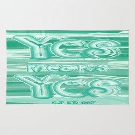 Yes means Yes - SB967 - Aqua Rug
