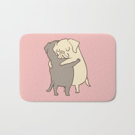 Labrador retriever Hugs Bath Mat