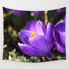 Purple Love Wall Tapestry