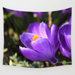 Purple Love Wall Tapestry