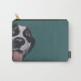 Maeby the border collie mix Carry-All Pouch