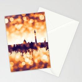 Washington DC Skyline Stationery Cards