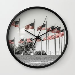 America the Beautiful Wall Clock