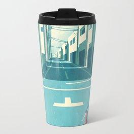 GIRL AT THE TOWN Travel Mug