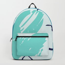 Distressed Abstract Vector Patterns II Backpack