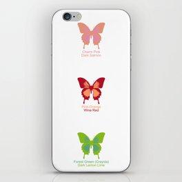 Butterflies 9 iPhone Skin