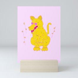 tiger Cat Mini Art Print