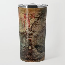 Courting Crow Travel Mug