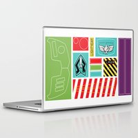 stickers Laptop & iPad Skins featuring TOY STORY : BUZZ LIGHTYEAR STICKERS KIT by DrakenStuff+