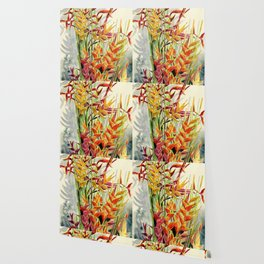 Heliconia Bouquet Wallpaper