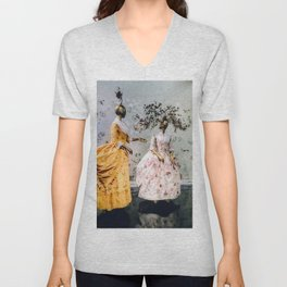 China Through The Looking Glass 3 Unisex V-Neck