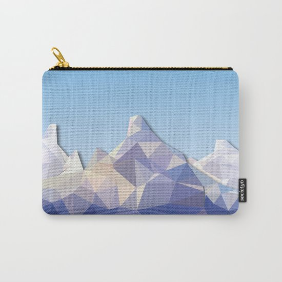 Night Mountains No. 37 Carry-All Pouch