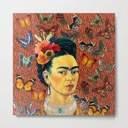 Butterflies frida Metal Print