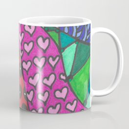 Colorful Zentangle Coffee Mug