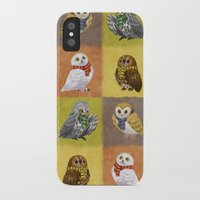hogwarts iPhone & iPod Cases featuring Hogwarts Owls by Katie O'Meara