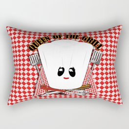 Queen of the Grill Rectangular Pillow
