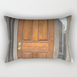 Old Montreal Doorway Rectangular Pillow