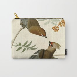 Bohemian Chatterer (Bombycilla garrulus) Carry-All Pouch