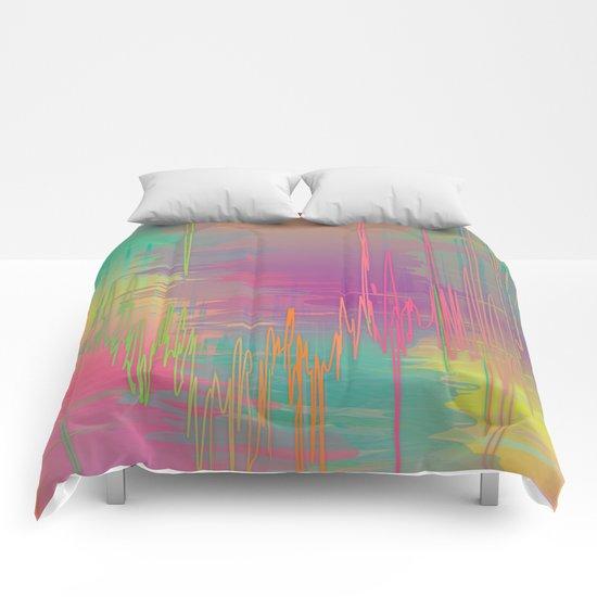 Rainbow Storm Comforters