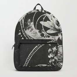 Lotus Flower Backpack