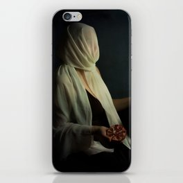 Lady justice with  pomegranate iPhone Skin