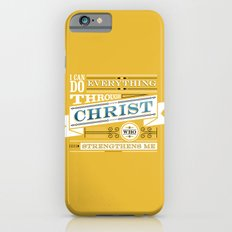 Philippians 4:13 iPhone 6s Slim Case