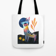 Meadow Donkey Tote Bag