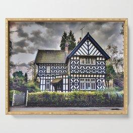 Tudor Home Serving Tray