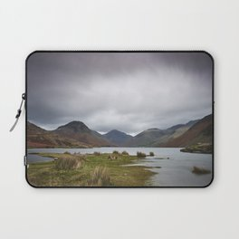 Rain clouds over Scafell and Great Gable. Wastwater, Cumbria, UK. Laptop Sleeve
