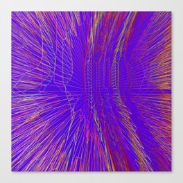 Color noise abstract digital background Canvas Print