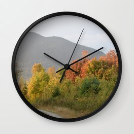 """Country Roads"" Wall Clock"